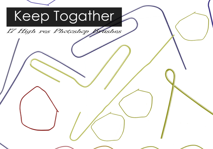 Keep it together Paper Clip Brushes