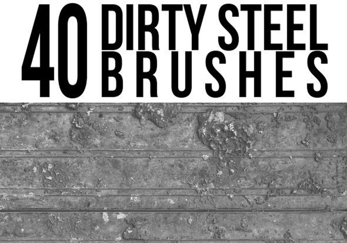 Dirty Steel Brushes