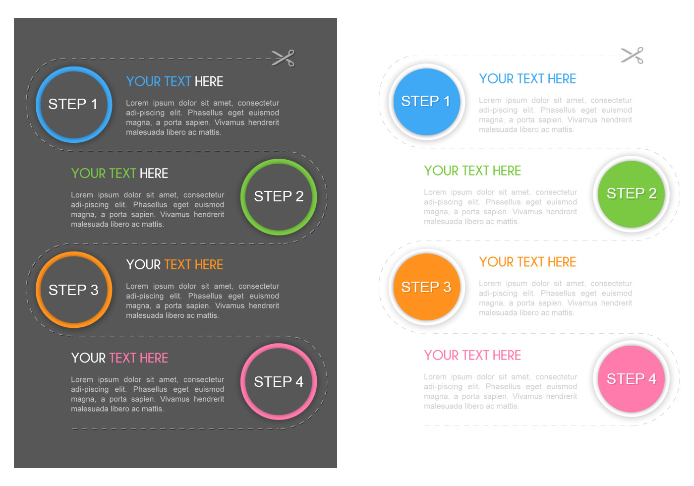 1 2 3 4 Steps Flyer PSD Template - Free Photoshop Brushes at Brusheezy!