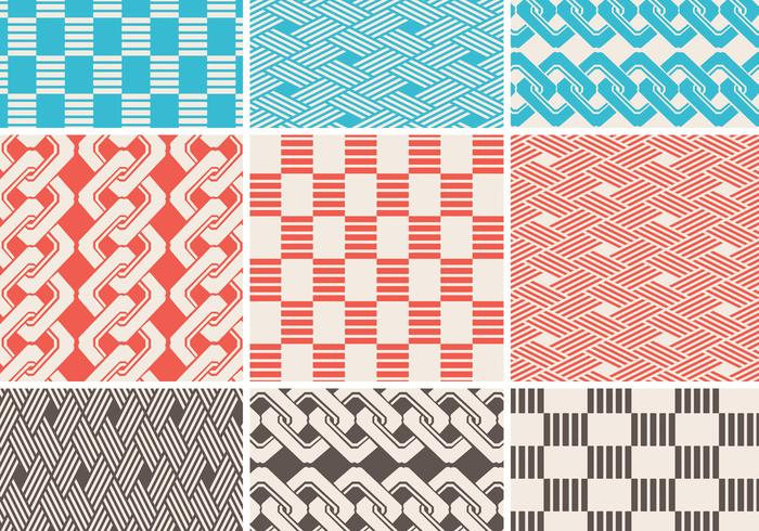 Seamless Braided Pattern Pack