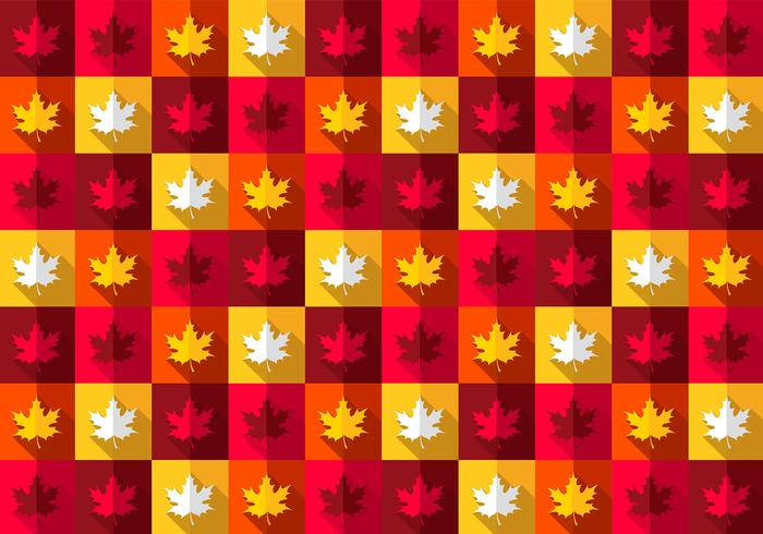 Bright Maple Leaf Pattern