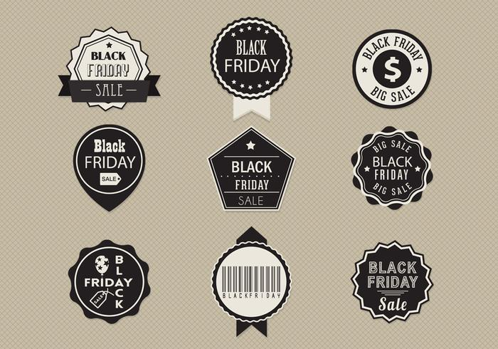 Black Friday Sale Label Brushes und PSD Pack