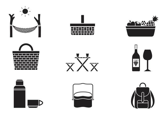 Picknick Pinsel Icon Pack