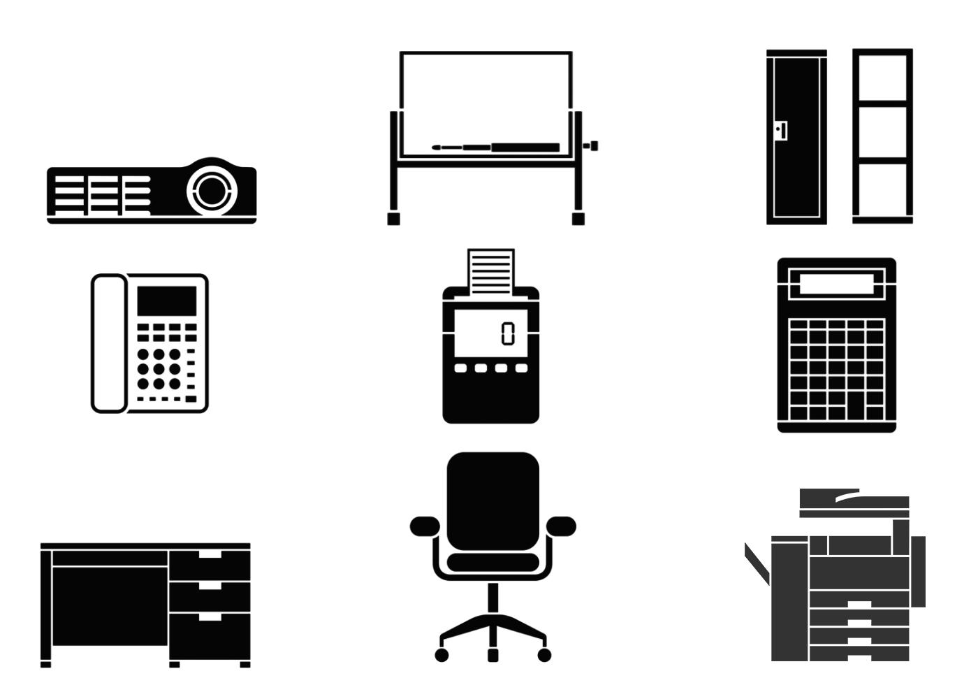 ensemble de brosses d 39 quipement de bureau pinceaux photoshop gratuits sur brusheezy. Black Bedroom Furniture Sets. Home Design Ideas