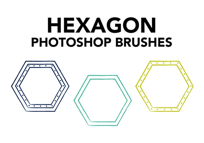 Brosses hexagonales