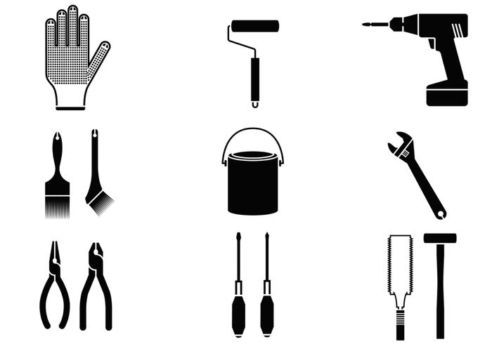 Pacote de escovas para ferramentas domésticas