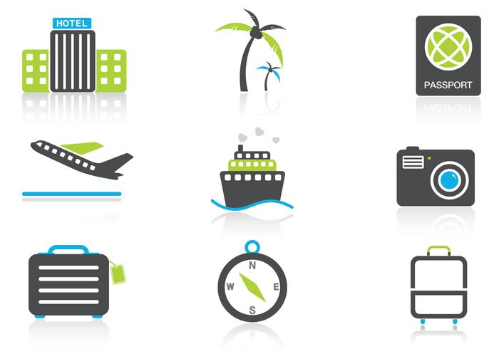 Reise Icon PSD Pack