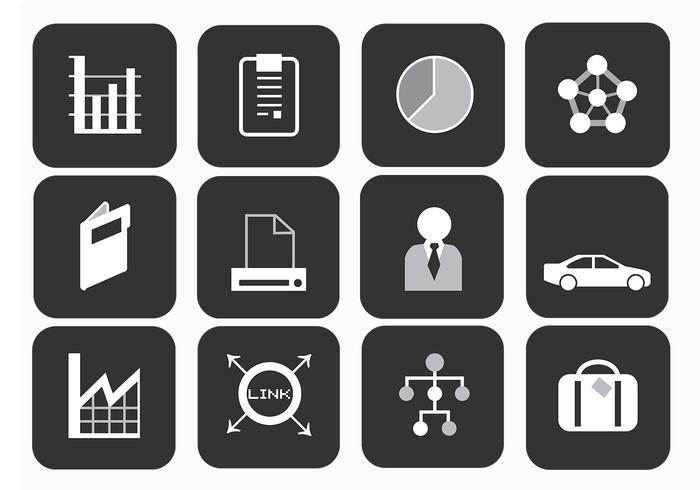 Business Brushes Icons Pack