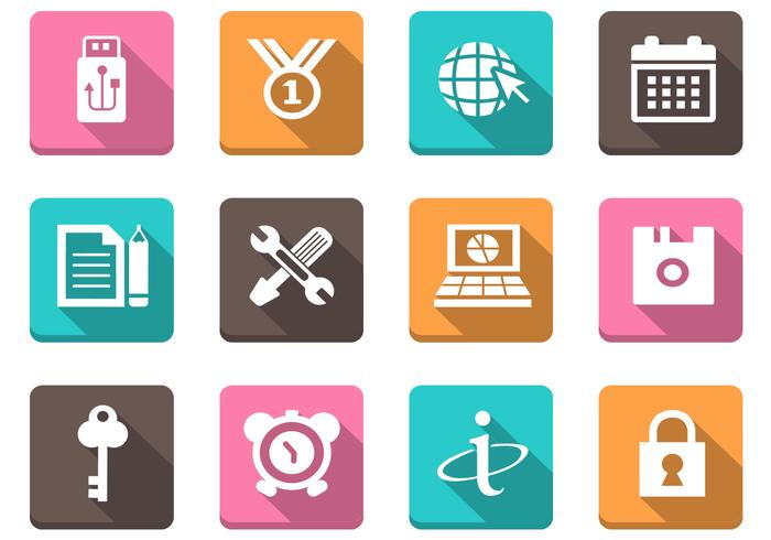 Diverse Web Icon PSD Pack