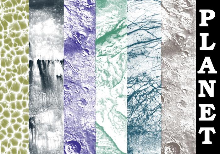 Planet Texture Brush Set