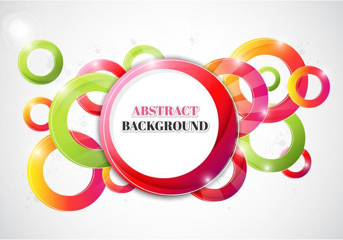 Bright Abstract Background PSD