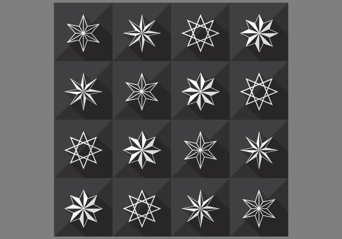 Seamless Star Pattern et PSD Pack