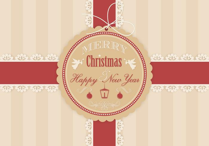 Christmas Gift Background PSD