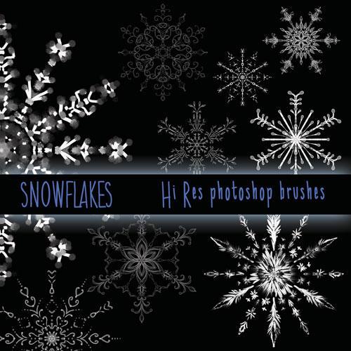 Realistic snowflakes | Etsy