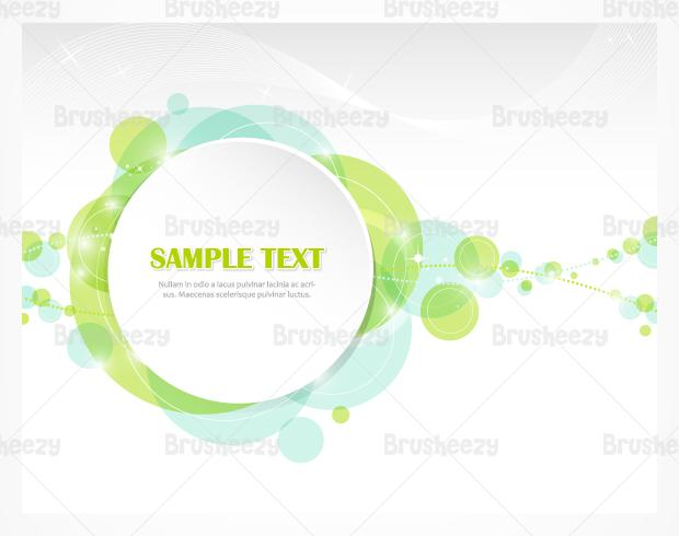 Abstrato Bubble PSD Background