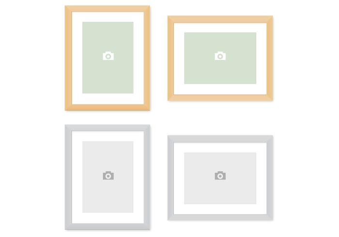 Modern Picture Frames PSD Pack