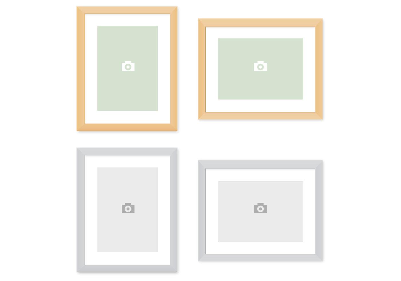Moderne Bilderrahmen PSD Pack - Kostenlose Photoshop-Pinsel bei ...
