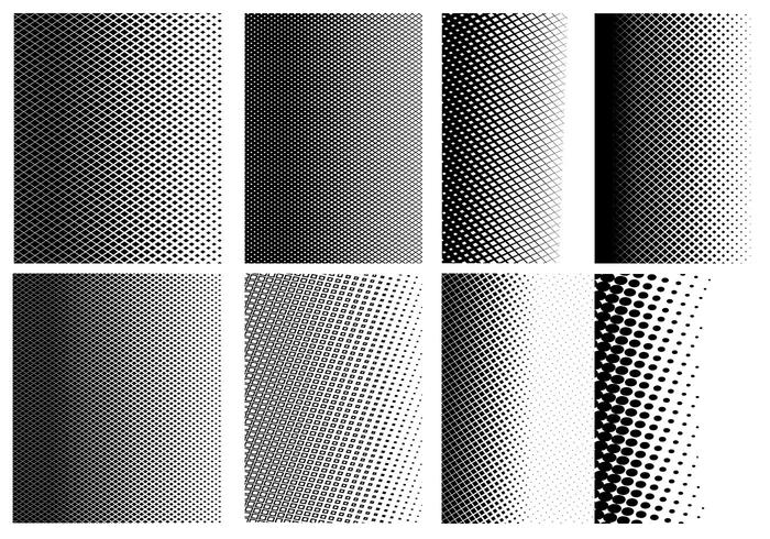 Halftone Pattern PSD Pack