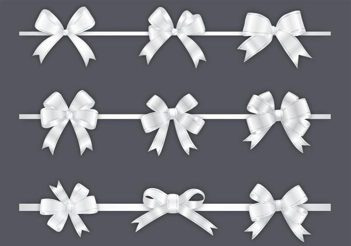 White Bow PSD Pack