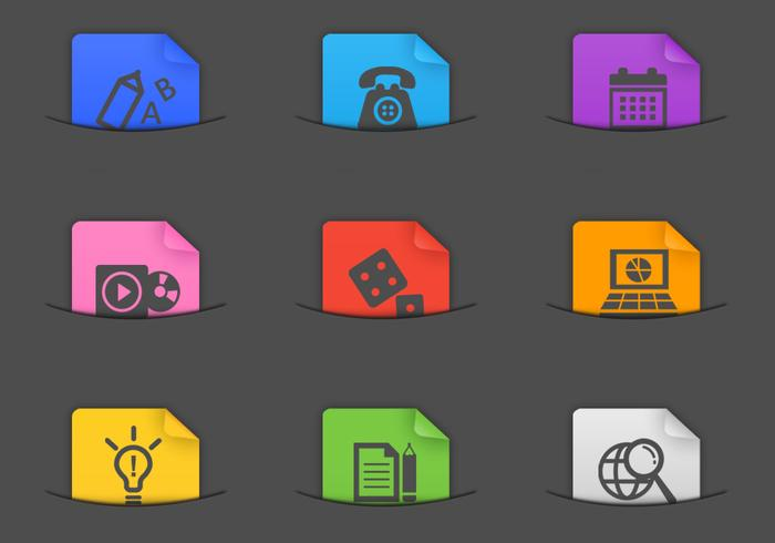 Miscellaneous Pocket Icon PSD Pack