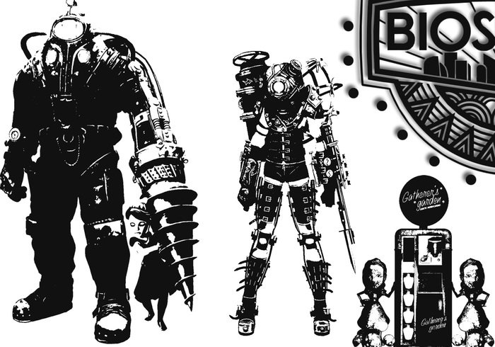 Bioshock Robot Brushes