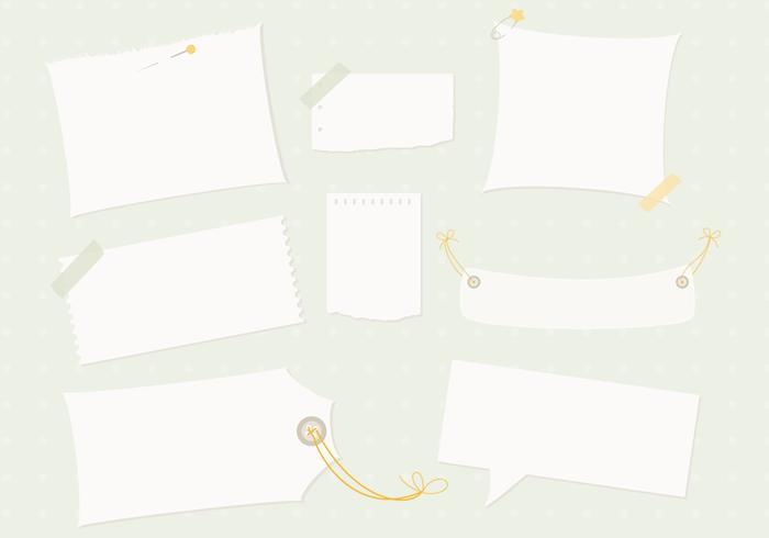 Opmerking Papier PSD Pack