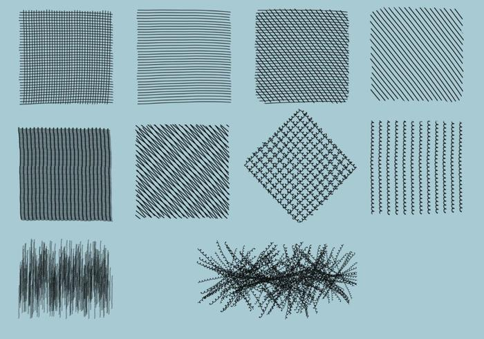 Crosshatch Pinsel Pack