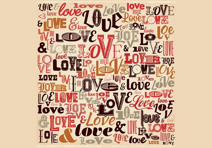 Vintage Love Background