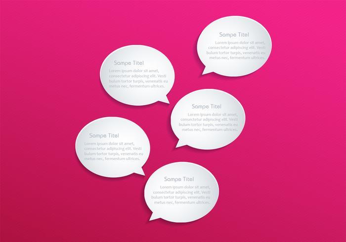 Speech Bubble PSD Background