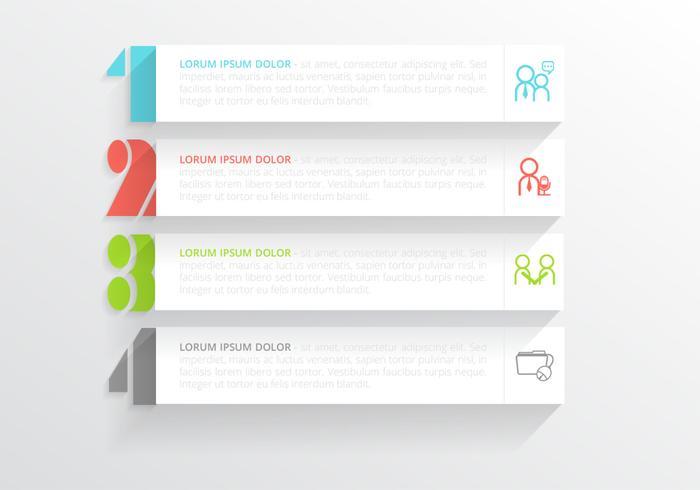 Modern Horisontell Banner PSD Pack