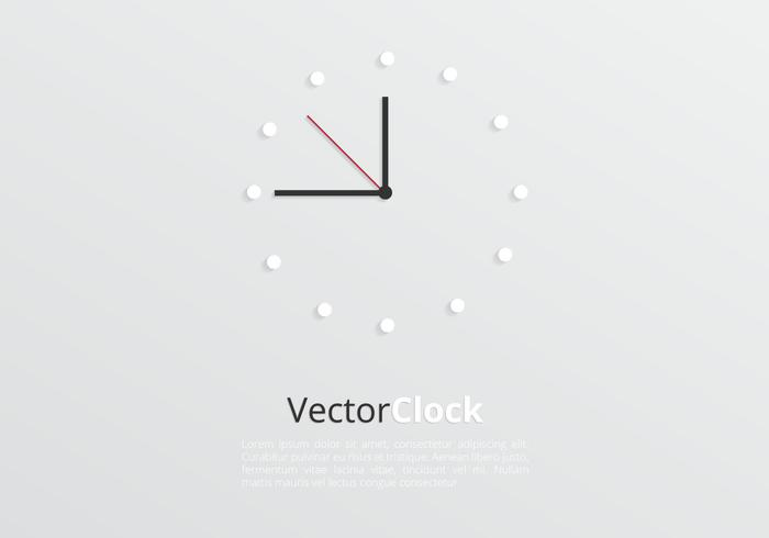 Modern Clock Background PSD