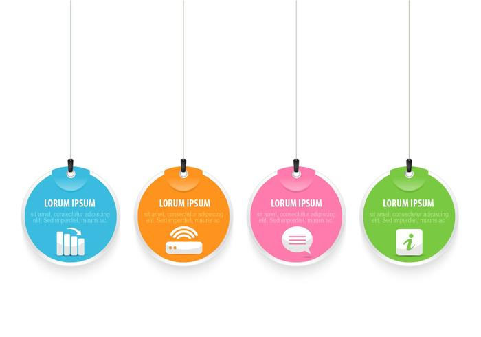 Bright Hanging Tag PSD Pack
