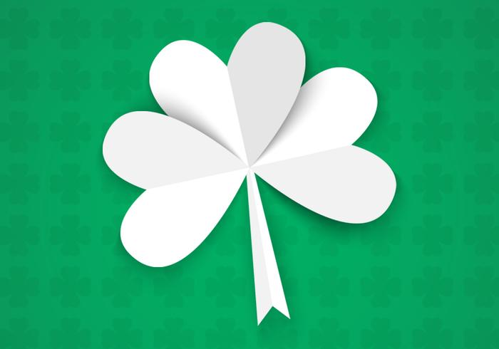 Contexte PSD de Happy St Patrick's Day