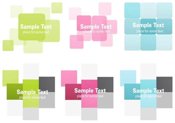 Abstract Squares Backgrounds PSD
