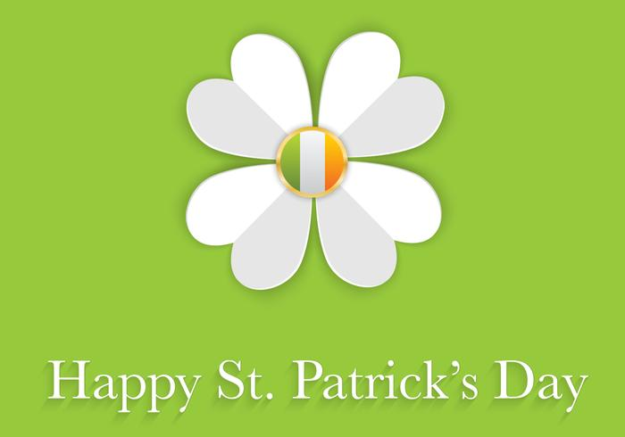Happy St. Patrick's Day PSD Background
