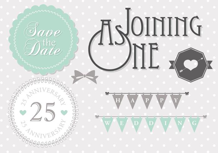 Mint Wedding Template PSD Pack