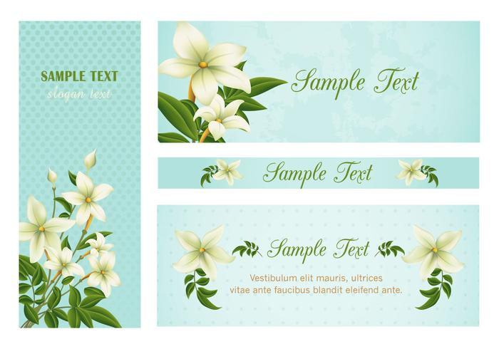Lily banners psd