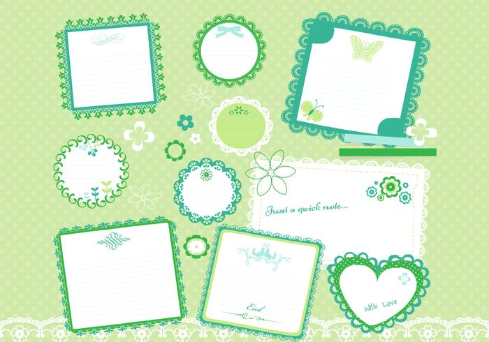Cute Scrapbook PSD Pack