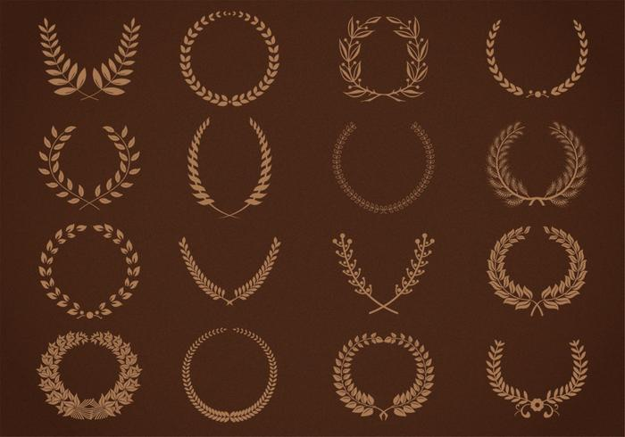 Garlands and Wreath Brushes Pack