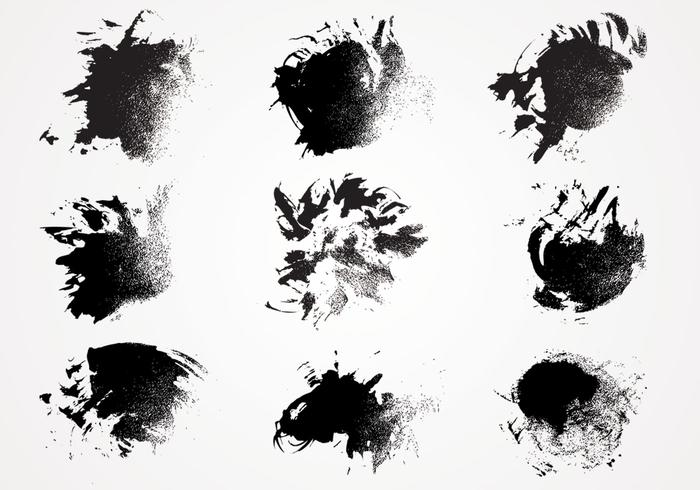 Ink Paint Texture Pinsel