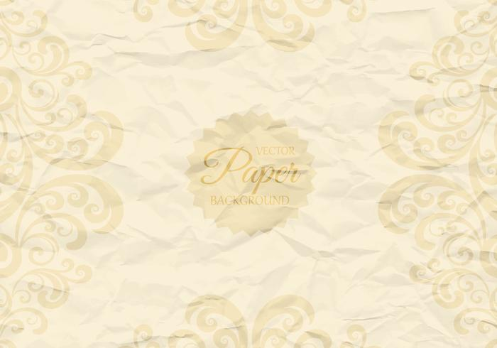 Crumpled Paper with Swirls PSD Background