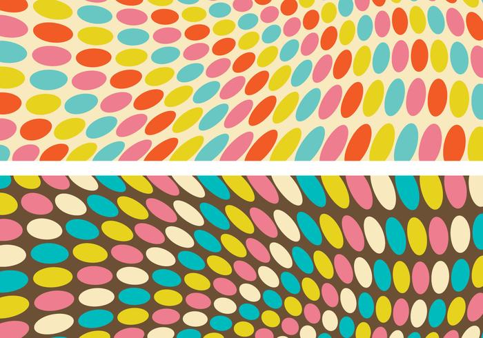 Funky Retro Geometric Background PSDs