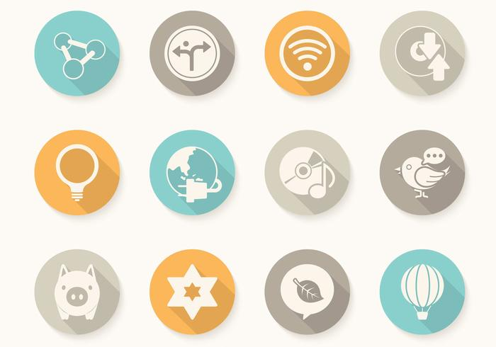 Miscellaneous Circular Button PSDs