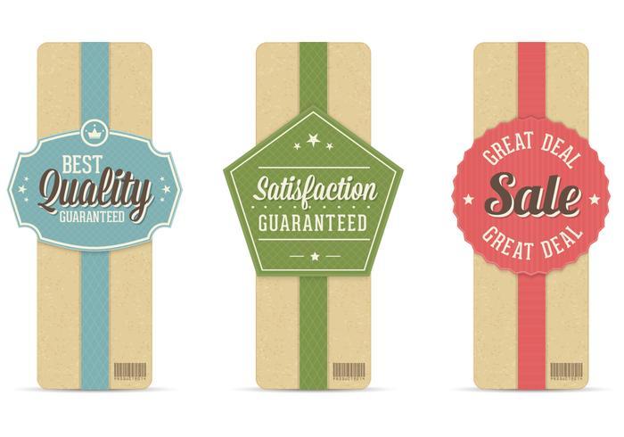 Retro Sale Banner PSD Set