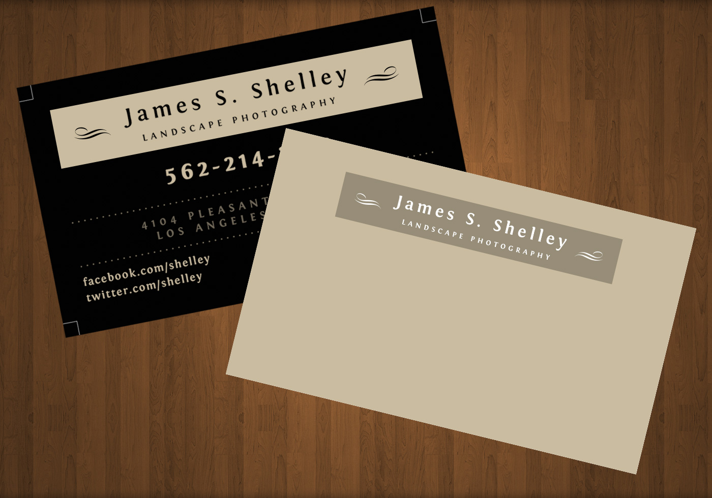 Photography Business Card PSD Template - Free Photoshop Brushes at ...