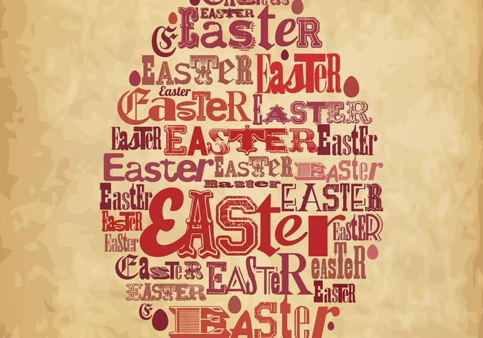 Fond d'affiche de Pâques