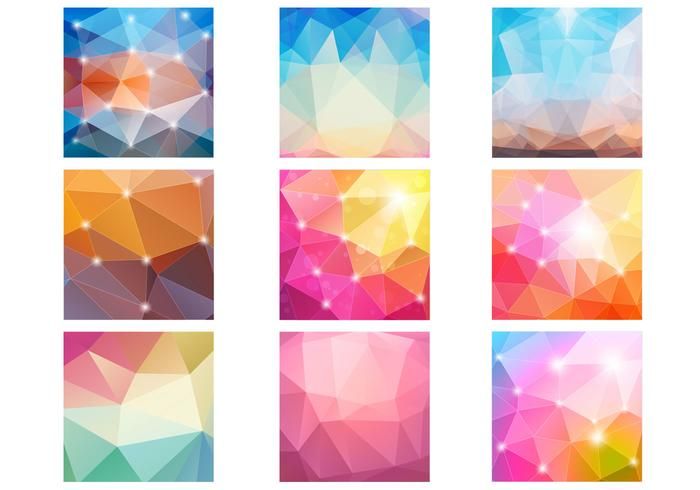 Abstract Diamond Bokeh Patterns PSD