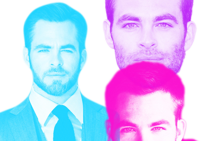 Chris Pine Brushes