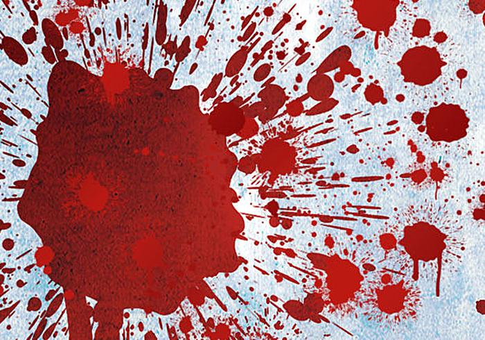 Splattered Blood Brushes Pack