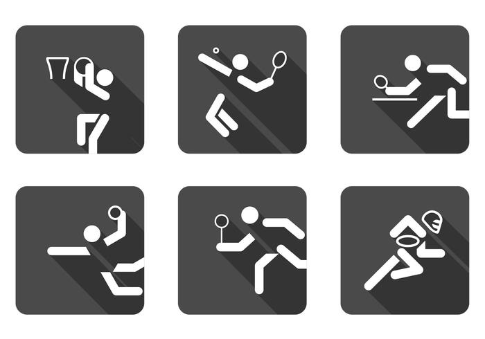 Ball Sports Icon PSD Set
